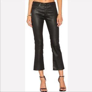 AG The Jodi Crop High Rise Slim Flare Jeans 25